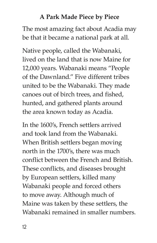 Book Preview For Acadia National Park Page 12