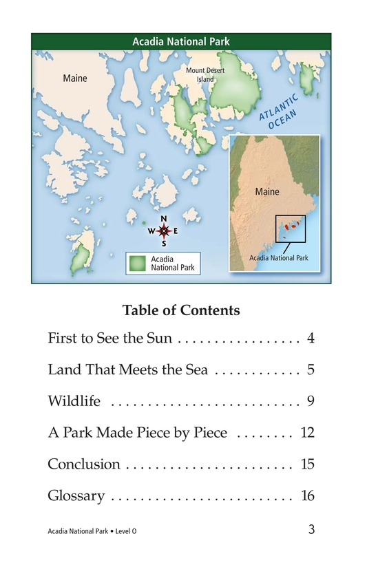 Book Preview For Acadia National Park Page 3