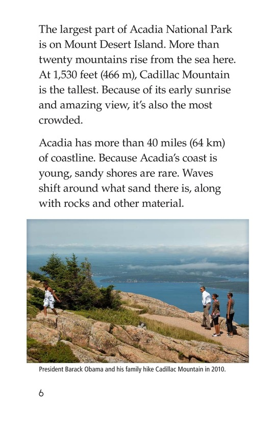 Book Preview For Acadia National Park Page 6