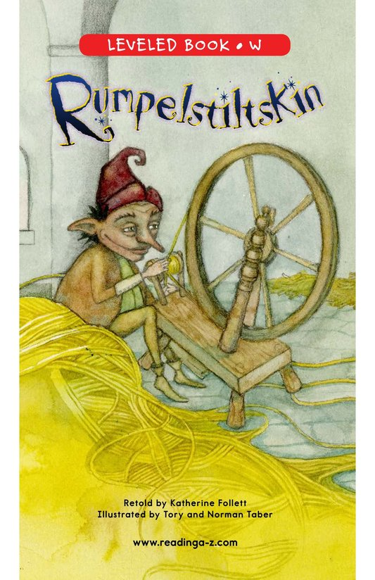 Book Preview For Rumpelstiltskin Page 0