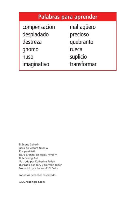 Book Preview For Rumpelstiltskin Page 2
