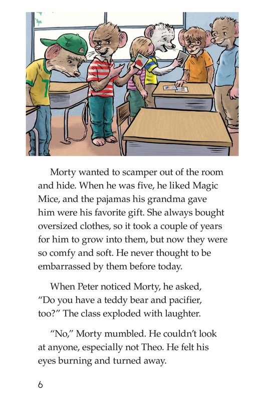 Book Preview For Morty Finds It No Laughing Matter Page 6