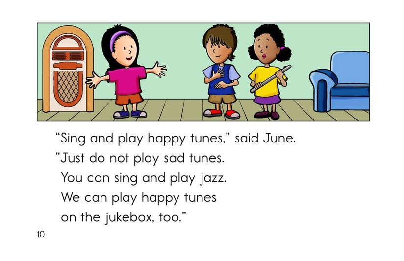 Book Preview For No More Sad Tunes Page 10