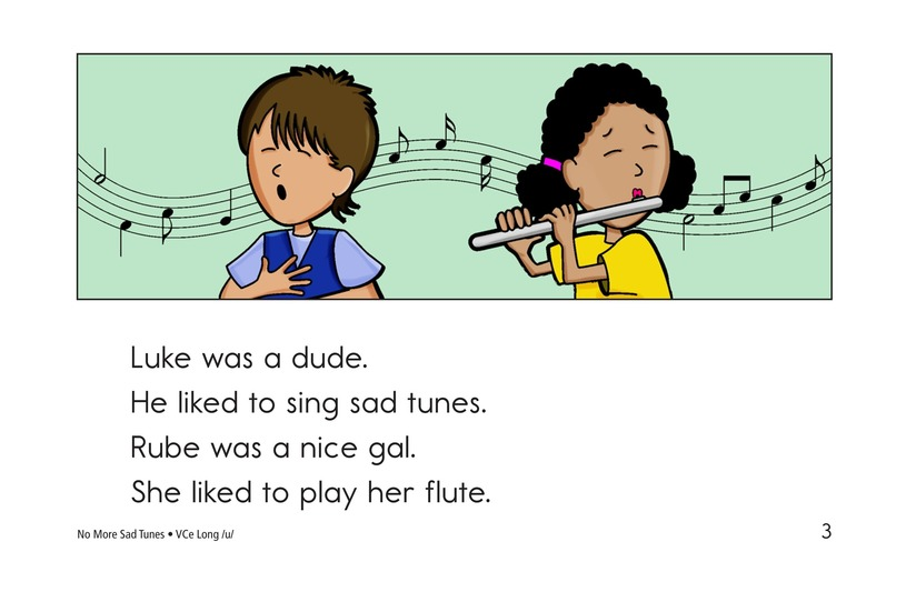 Book Preview For No More Sad Tunes Page 3