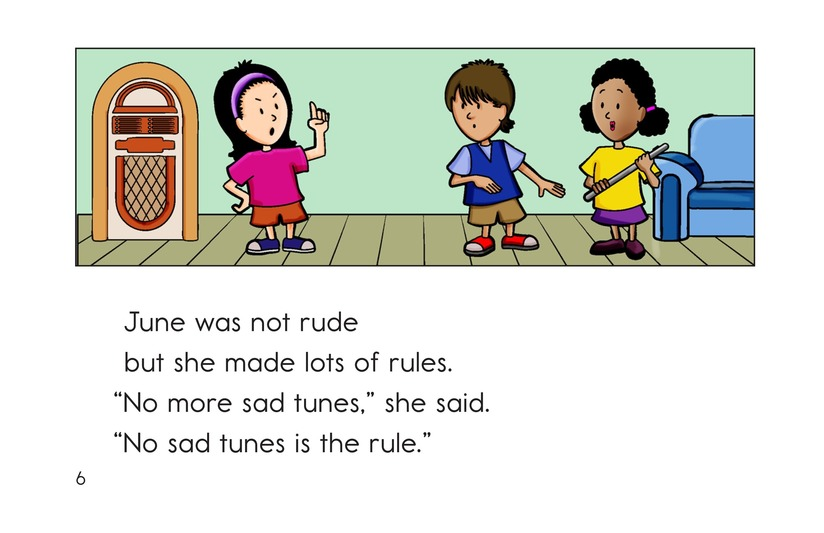 Book Preview For No More Sad Tunes Page 6