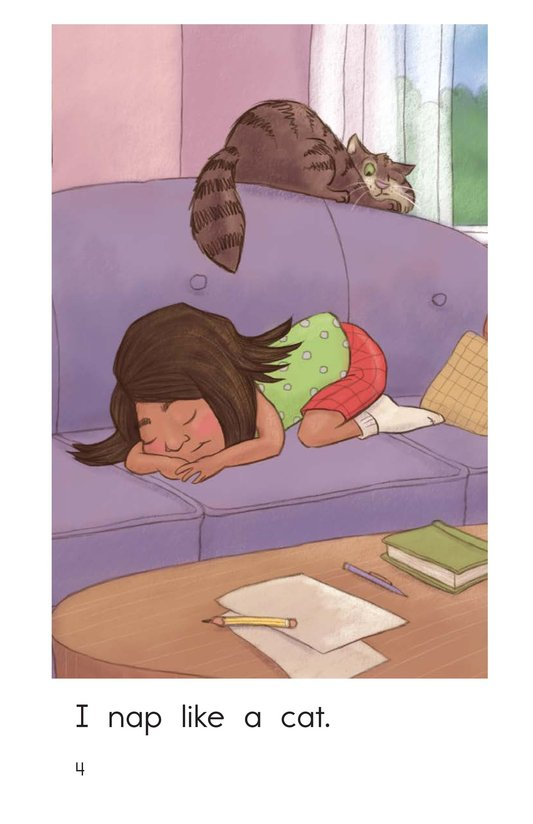 Book Preview For I Want to Be a Cat Page 4