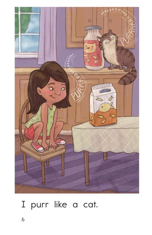 Book Preview For I Want to Be a Cat Page 6