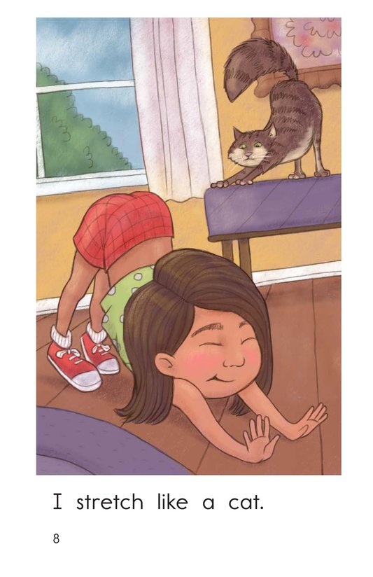 Book Preview For I Want to Be a Cat Page 8