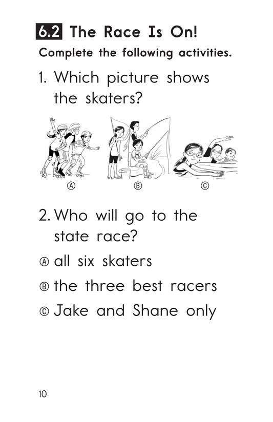 Book Preview For Decodable Passages Set 6 Book 1 Page 10