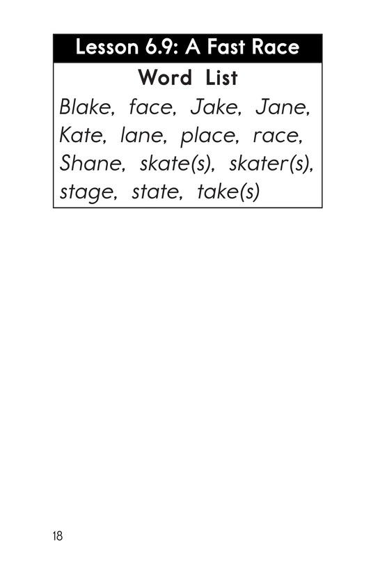 Book Preview For Decodable Passages Set 6 Book 2 Page 18
