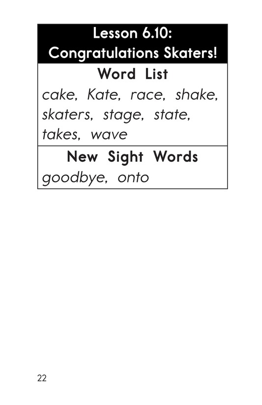 Book Preview For Decodable Passages Set 6 Book 2 Page 22