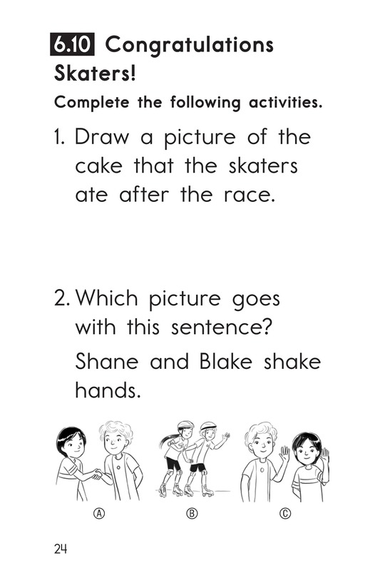 Book Preview For Decodable Passages Set 6 Book 2 Page 24