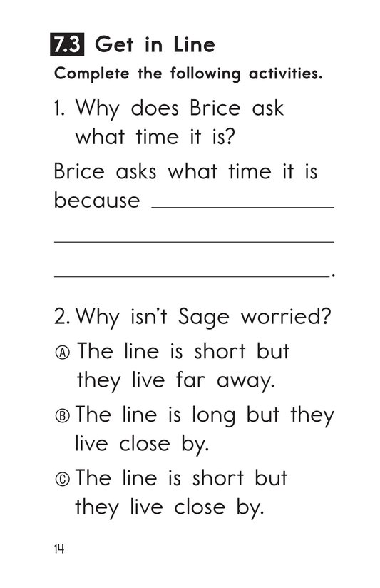 Book Preview For Decodable Passages Set 7 Book 1 Page 14