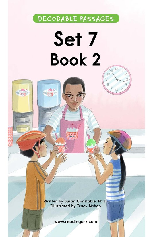 Book Preview For Decodable Passages Set 7 Book 2 Page 1