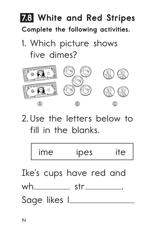 Book Preview For Decodable Passages Set 7 Book 2 Page 14
