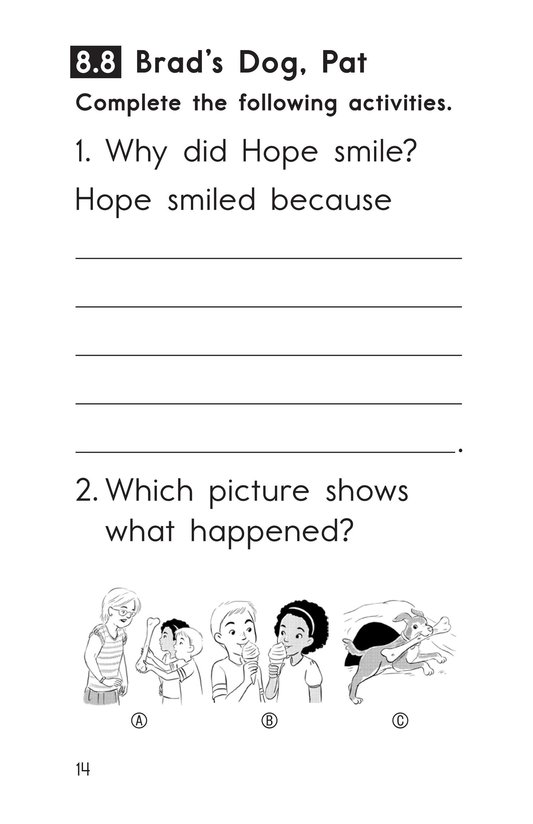 Book Preview For Decodable Passages Set 8 Book 2 Page 14