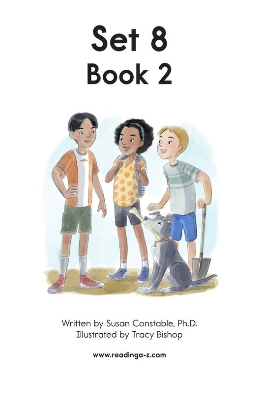 Book Preview For Decodable Passages Set 8 Book 2 Page 2