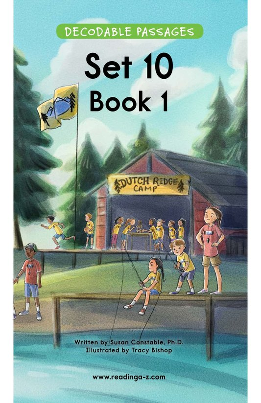 Book Preview For Decodable Passages Set 10 Book 1 Page 1