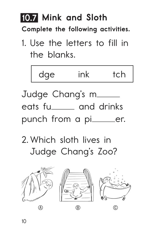 Book Preview For Decodable Passages Set 10 Book 2 Page 10