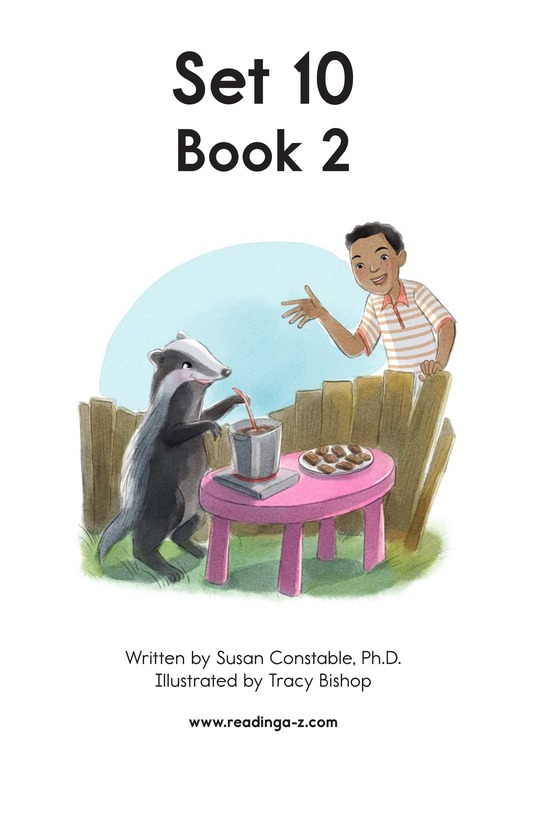 Book Preview For Decodable Passages Set 10 Book 2 Page 2