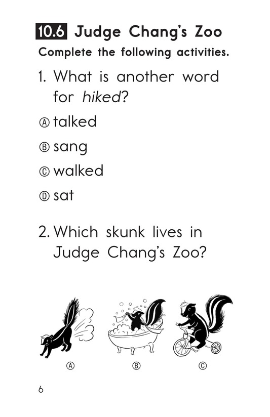 Book Preview For Decodable Passages Set 10 Book 2 Page 6