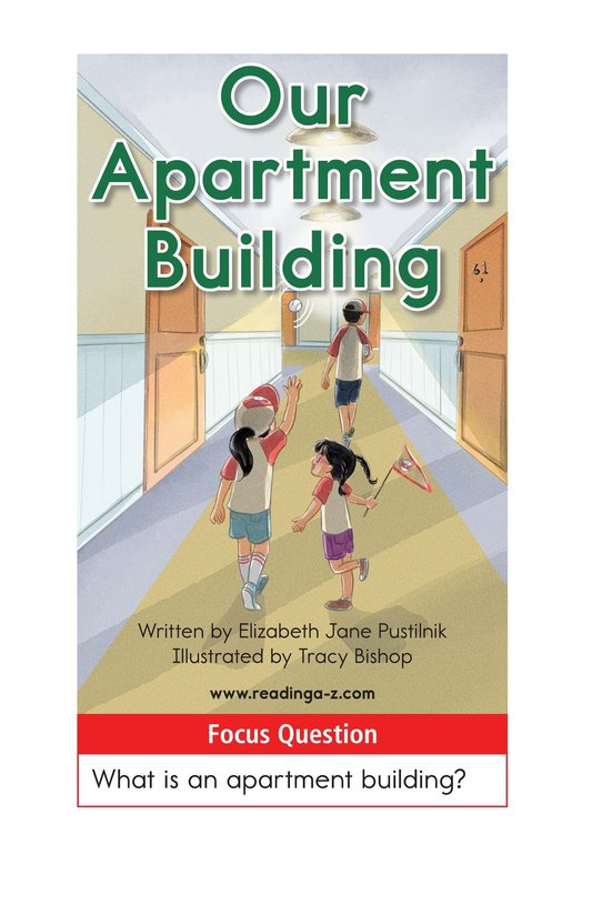 Book Preview For Our Apartment Building Page 1