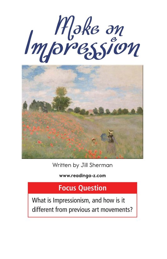 Book Preview For Make an Impression Page 1