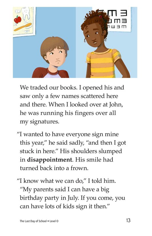 Book Preview For The Last Day of School Page 13