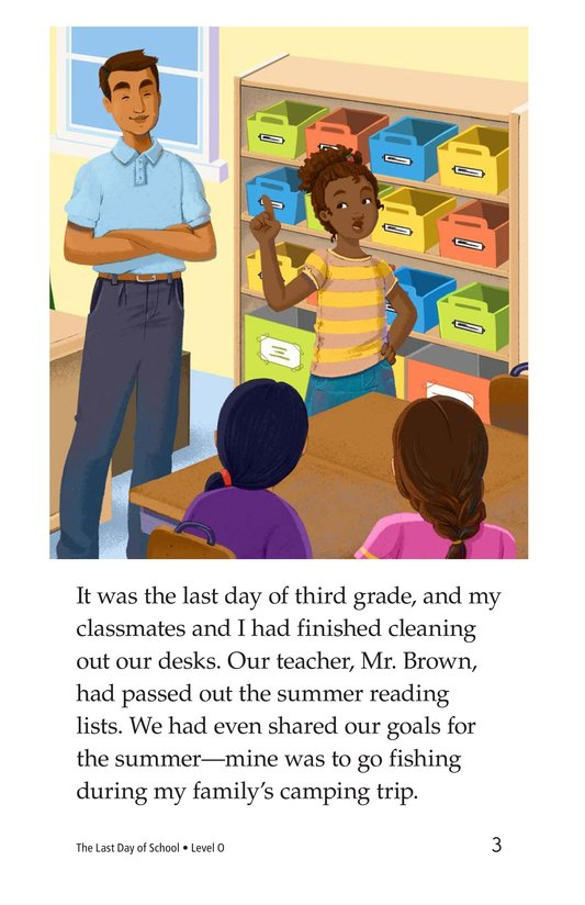 Book Preview For The Last Day of School Page 3
