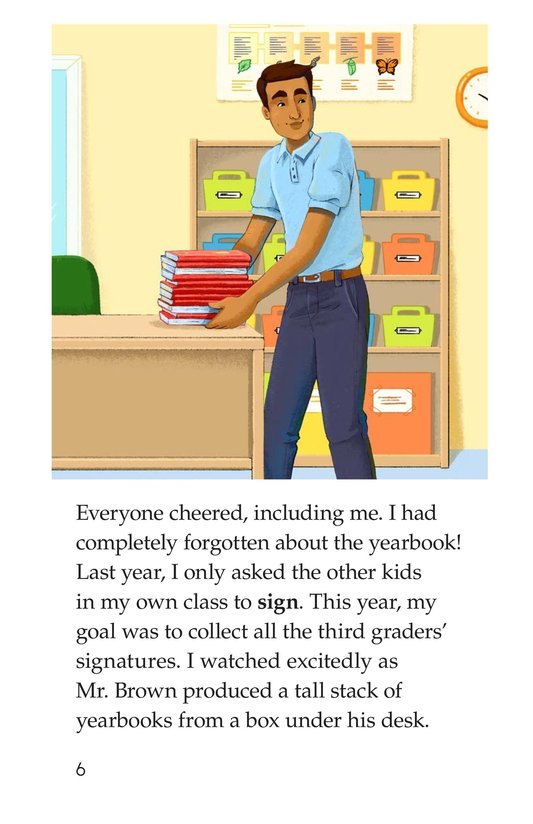 Book Preview For The Last Day of School Page 6