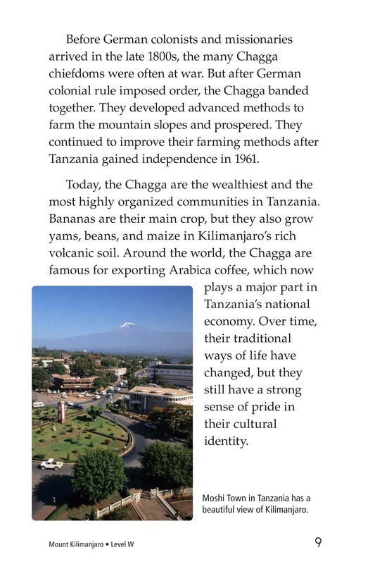 Book Preview For Mount Kilimanjaro Page 9