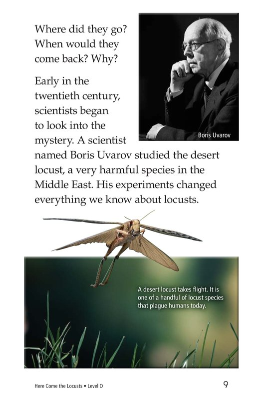 Book Preview For Here Come the Locusts Page 9