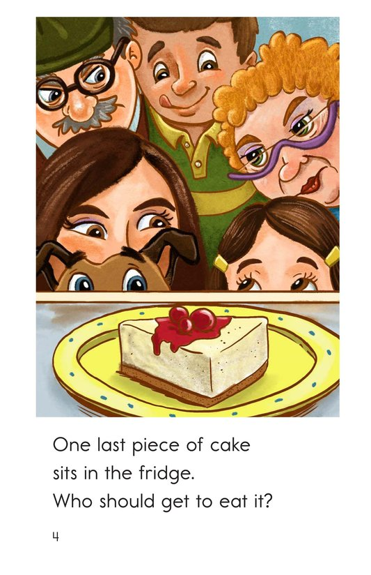Book Preview For The Last Piece of Cake Page 4
