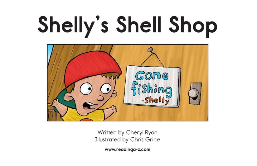 Book Preview For Shelly's Shell Shop Page 2
