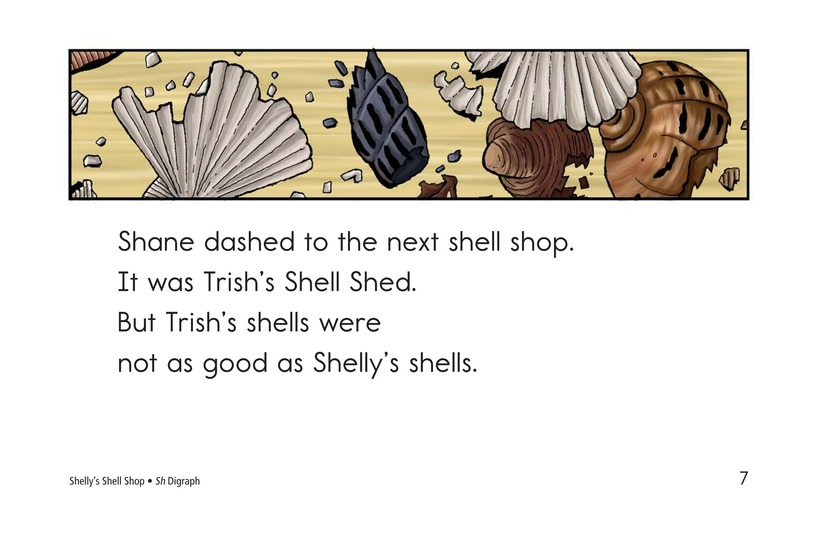 Book Preview For Shelly's Shell Shop Page 7