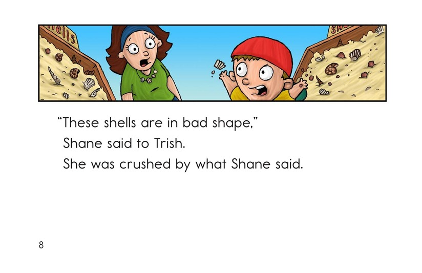 Book Preview For Shelly's Shell Shop Page 8