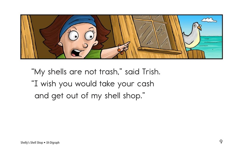 Book Preview For Shelly's Shell Shop Page 9
