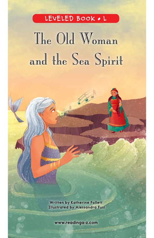 Book Preview For The Old Woman and the Sea Spirit Page 0