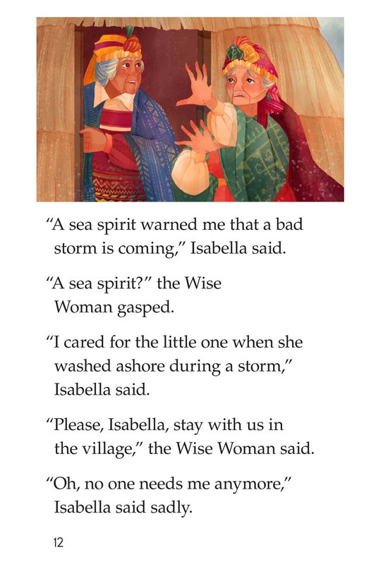 Book Preview For The Old Woman and the Sea Spirit Page 12
