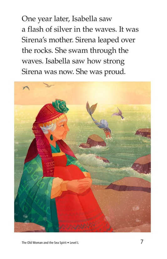 Book Preview For The Old Woman and the Sea Spirit Page 7