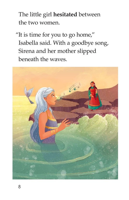 Book Preview For The Old Woman and the Sea Spirit Page 8