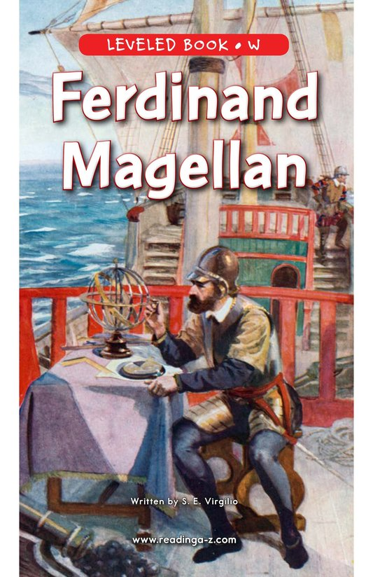 Book Preview For Ferdinand Magellan Page 0