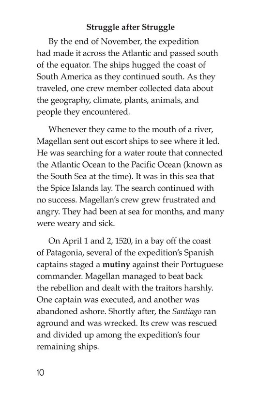 Book Preview For Ferdinand Magellan Page 10