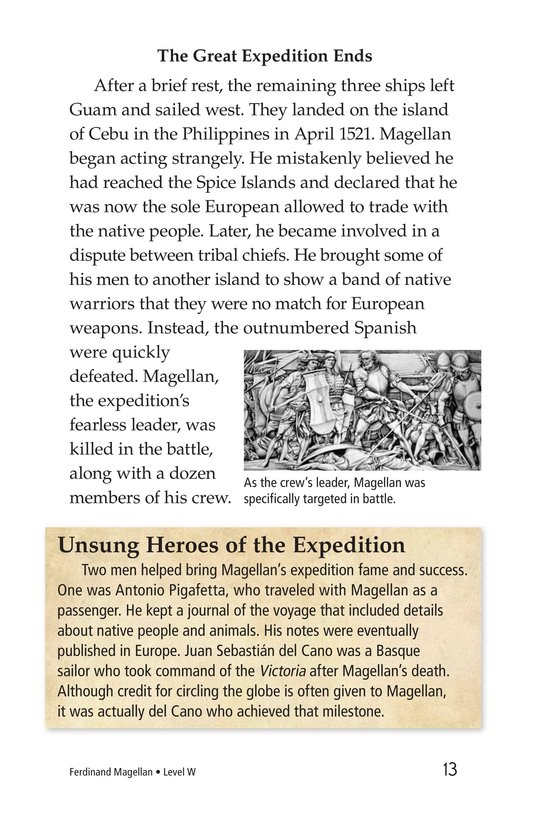 Book Preview For Ferdinand Magellan Page 13