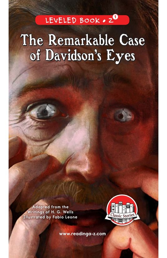 Book Preview For The Remarkable Case of Davidson's Eyes Page 0