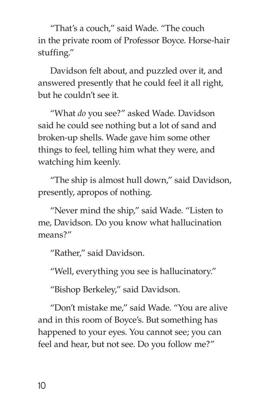 Book Preview For The Remarkable Case of Davidson's Eyes Page 10