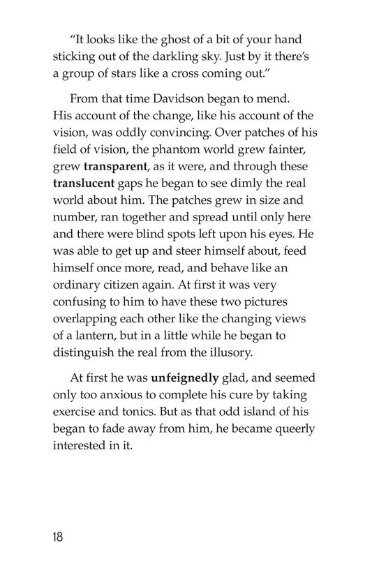 Book Preview For The Remarkable Case of Davidson's Eyes Page 18