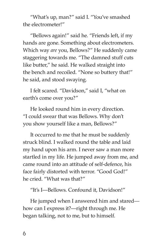 Book Preview For The Remarkable Case of Davidson's Eyes Page 6