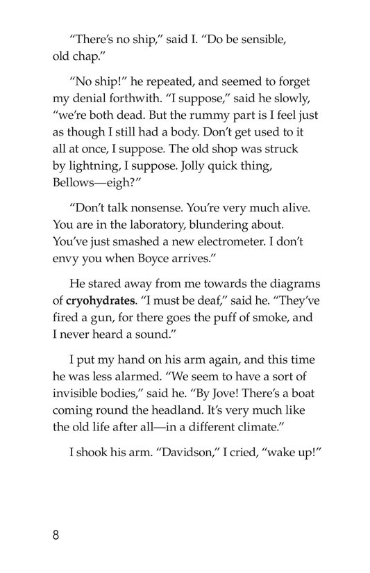 Book Preview For The Remarkable Case of Davidson's Eyes Page 8