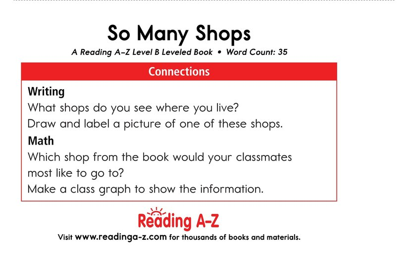 Book Preview For So Many Shops Page 11